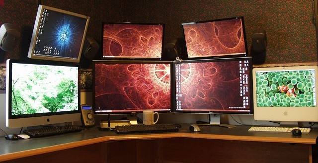 Office Monitor Setup